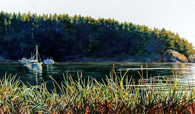Evening In Bowman Bay  SOLD