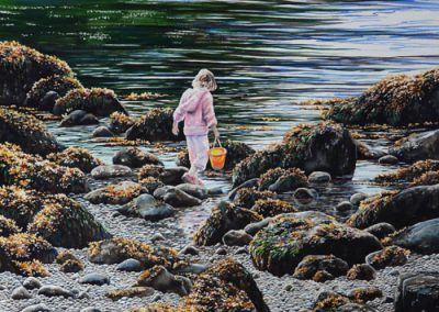 Tide Pool Girl