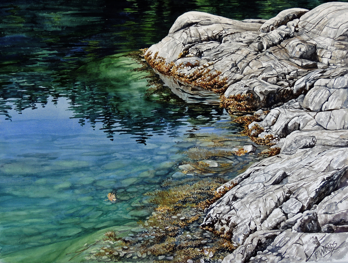peggywoods watercolor artist tides